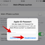 Mein iPhone suchen aktivieren deaktivieren 4