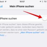Mein iPhone suchen aktivieren deaktivieren 5