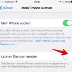 Mein iPhone suchen aktivieren deaktivieren 6