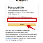 Passwort vergessen 3