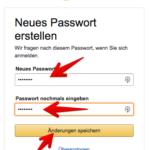 Passwort vergessen 7