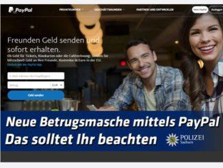 Polizei warnt PayPal Betrugsmasche auf eBay Kleinanzeigen