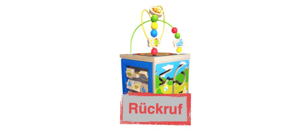 Rossmann Rückruf Holzspielzeug