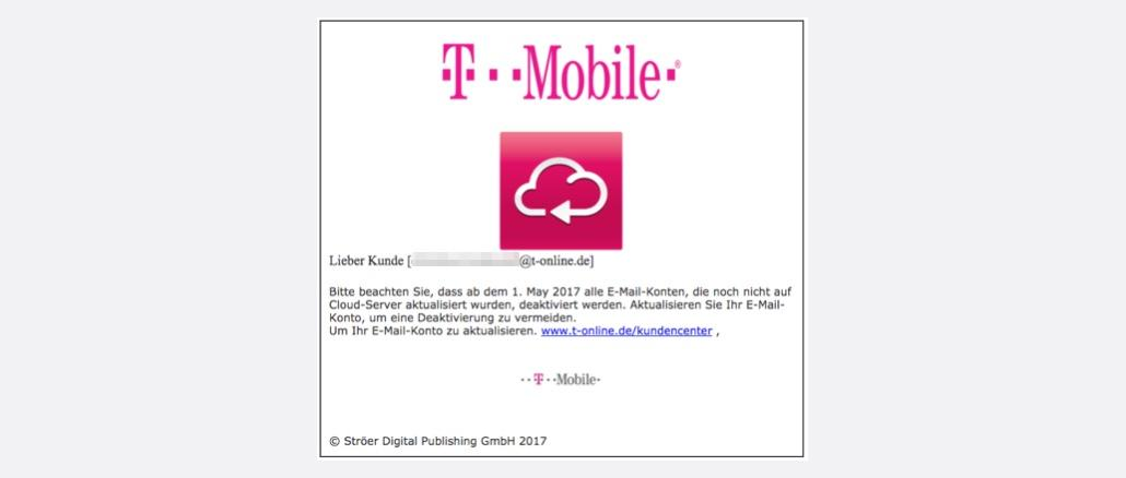 telekom t mobile e mail 15gb kontoverifizierung ist phishing. Black Bedroom Furniture Sets. Home Design Ideas
