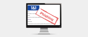 Warnung 1und1 Spam Phishing