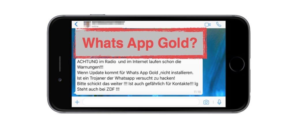 Whatsapp Trojaner Gold