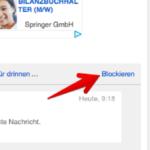eBay Kleinanzeigen Nachrichten blockieren 1