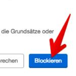 eBay Kleinanzeigen Nachrichten blockieren 2