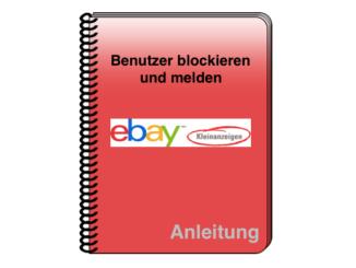eBay Kleinanzeigen Nutzer Spam Nachrichten blockieren