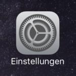 iOS Einstellungen App