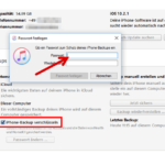 iPhone Datensicherung mit iTunes Windows 3