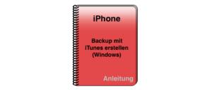 iPhone iPad Backup iTunes Windows