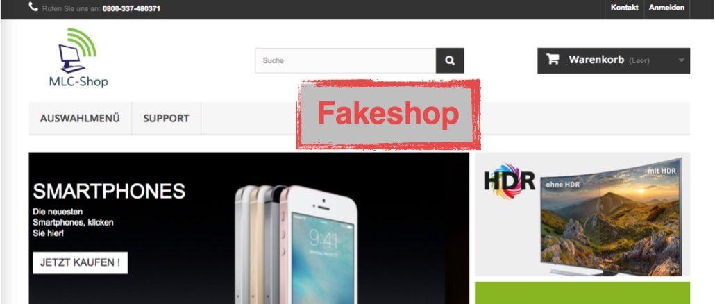 mlc-shop-top Warnung Fakeshop