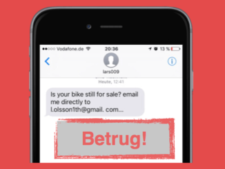 mobile-de SMS E-Mail Kontakt Betrug