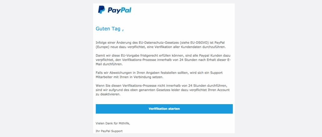 2017-04-08 PayPal Phishing EU-Datenschutz-Gesetze EU-DSGVO