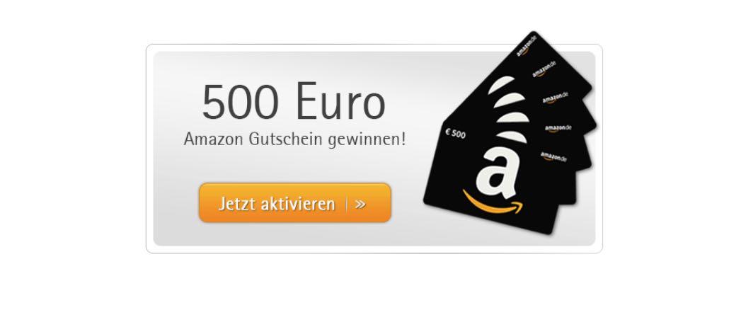 amazon gutschein 500 gewinnen