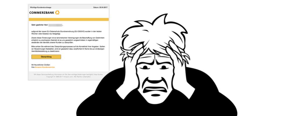 Lustig: Betrüger sind auch nur Menschen – Amazon-Phishing zum Lachen