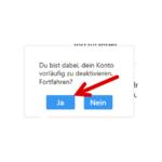 Anleitung Instagram Konto deaktivieren 5