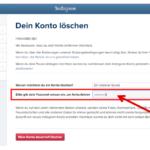 Anleitung Instagram löschen 2