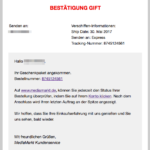 E-Mail Spam Betrug Werbung Gewinnspiel Media Markt Rabattkarte