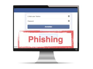 Facebook Phishing FakeSeite