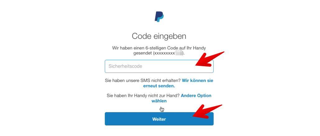 passwort ändern bei paypal