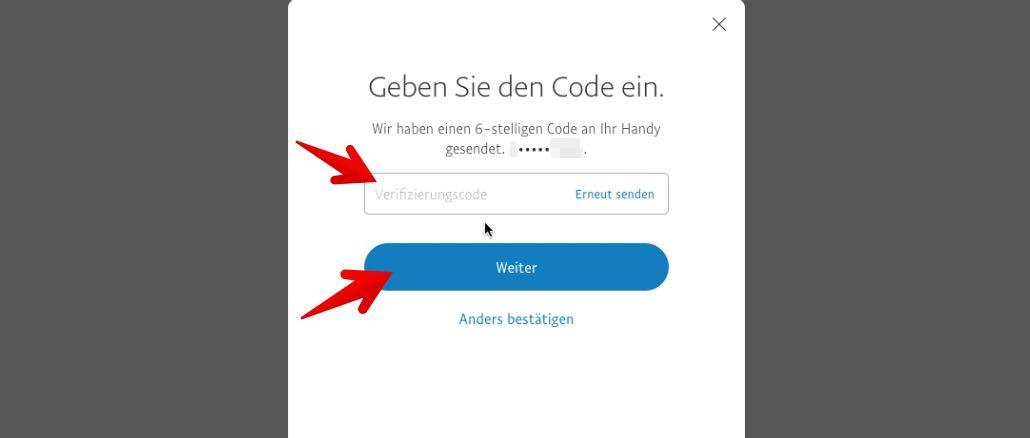 paypal passwort ändern geht nicht
