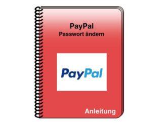 PayPal: Passwort ändern - einfach erklärt