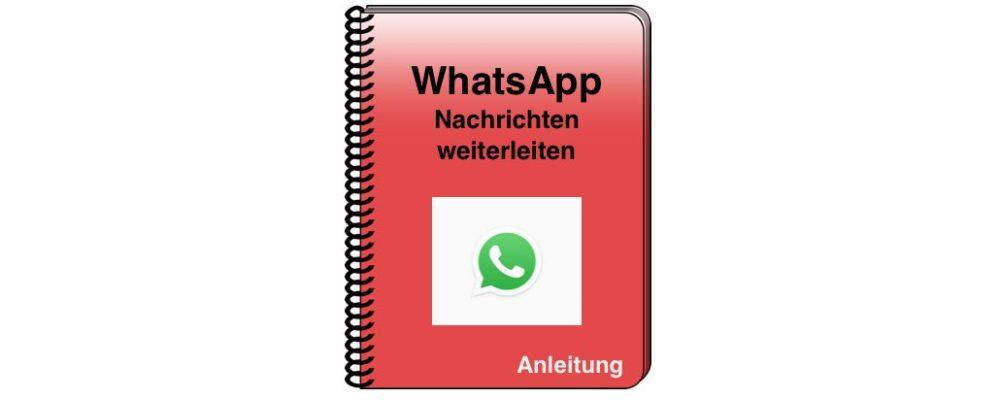 Android und iOS: WhatsApp Nachrichten weiterleiten – einfach erklärt