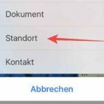 WhatsApp- Standort per Smartphone und iPhone verschicken-iOS