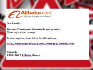 alibaba-com spam mail