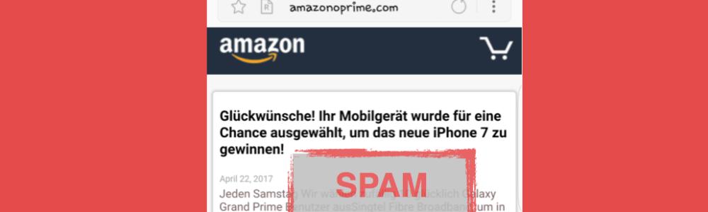 amazonoprime.com: Dubiose Werbung öffnet sich im Browser- was tun?