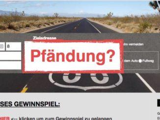 routenplaner-maps.com Pfändung