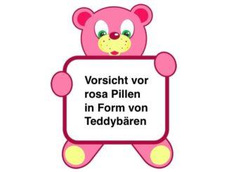 2017-05-19 Warnung vor rosa Teddybären-Pillen