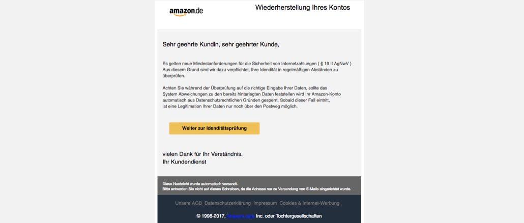 2017-05-22 Amazon-Phishing