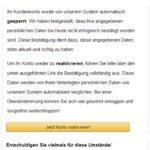 Amazon Phishing Kundensicherheit Referenznummer