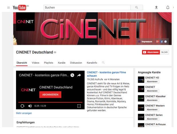 CiNENET Deutschland - YouTube