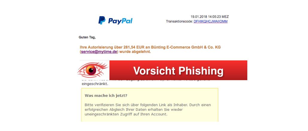 paypal kontakt e mail adresse
