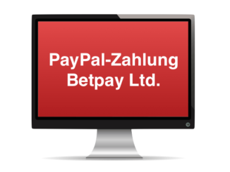 PayPal Zahlung Betpay Ltd Phishing Spam
