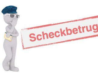 Symbolbild Scheckbetrug