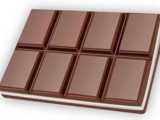 Symbolbild Schokolade, Schokoladentafel