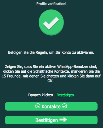 WhatsApp Kettenbrief 0,01 pro Nachricht teilen