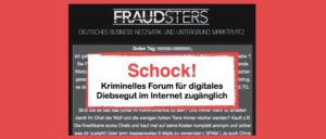 fraudsters.to Forum von Kriminellen im Internet
