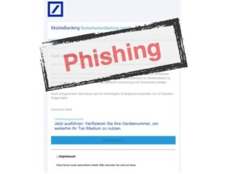 2017-06-12 Phishing Deutsche Bank