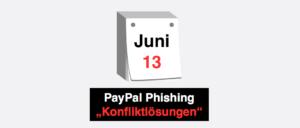 2017-06-13 PayPal Spam Konflitlösungen