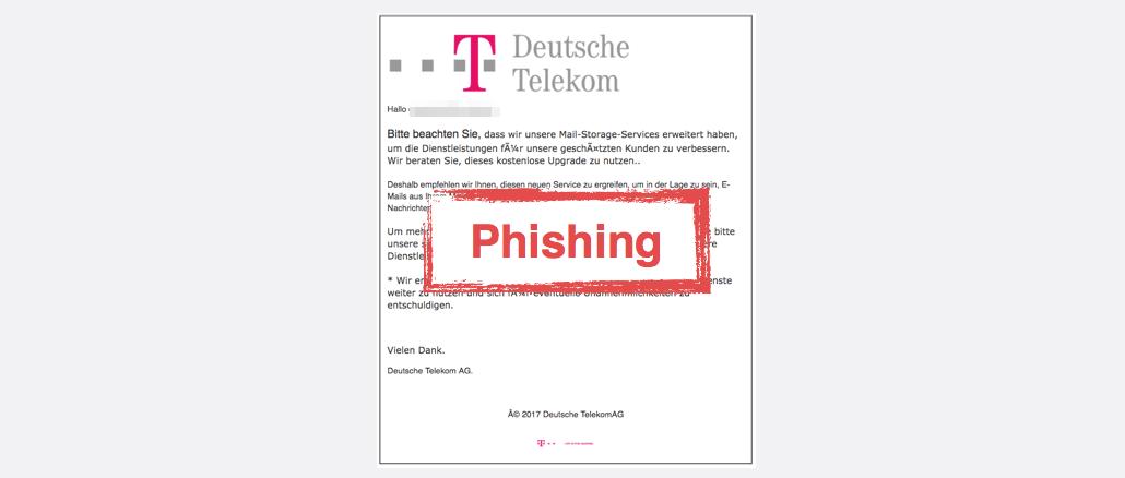 telekom t mobile e mail konto k ndigung ist phishing. Black Bedroom Furniture Sets. Home Design Ideas