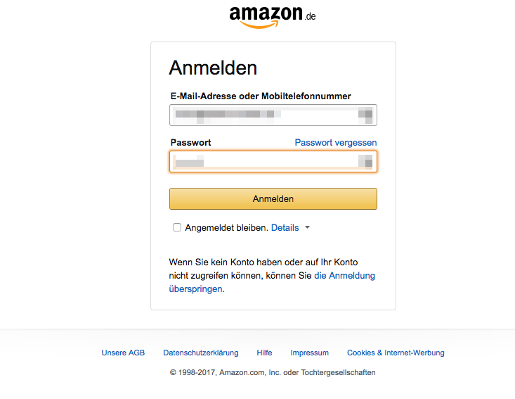 Amazon Kunden Hotline Nummer