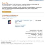 Amazon Phishing-Mail Ihr Konto wurde eingeschränkt