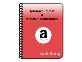 Amazon Telefonnummer Chat Kontakt aufnehmen