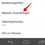 Android Google Chrome Javascript blockieren 3
